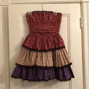Betsey Johnson liberty calico patterned dress